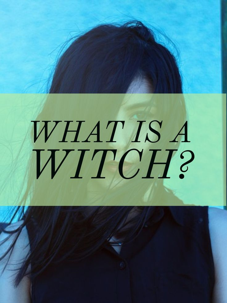 What is a witch to you? What comes to mind?nnToday, I'll be going over my own definition and what it means to me to be a witch. Check it out on the blog!