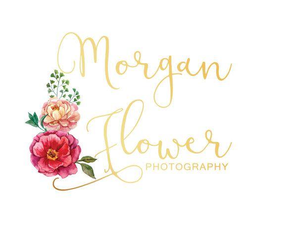 Floral Branding Kit Custom Logo Design Logo by LoveArtsStudio