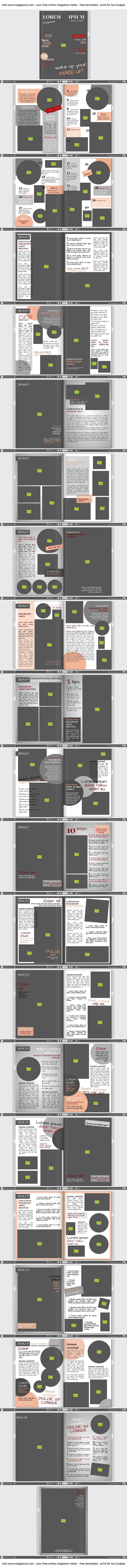 Créer gratuitement un journal en ligne et l'imprimer à petit prix en cliquant sur  https://fr.magglance.com/journal/creer-un-journal #journal #magazine #modèle #design #échantillon #exemple #Template #façonner #créer #cadeau #mise en page #idée