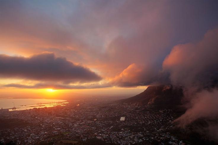 AUTUMN IN THE CITY  Cape Town CBD