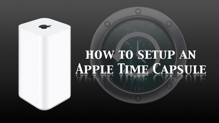 how to connect time capsule to mac