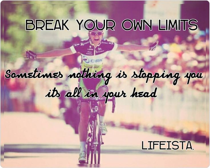 Lifeista:  Break Your own limits!Sometimes nothing is stoppi...