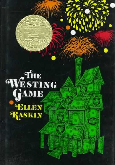 the westing game. One of my favorite books, I read this so many times in one summer I could almost recite it word for word!