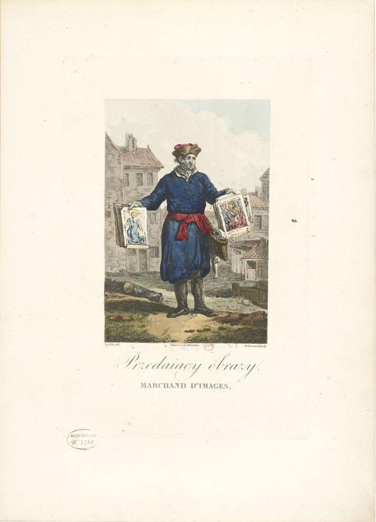 Collection de costumes polonais  dessinés d'après nature par Norblin et gravés par Debucourt - 1817  L'album complet ci-dessous :