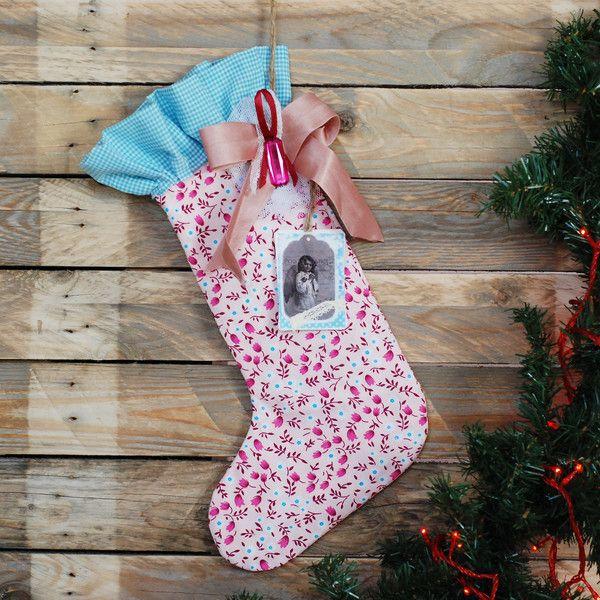 Skarpeta Świętego Mikołaja w La maison cottage na DaWanda.com