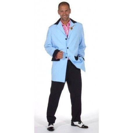 Déguisement rock'n roll Teddy boy homme luxe années 50-60