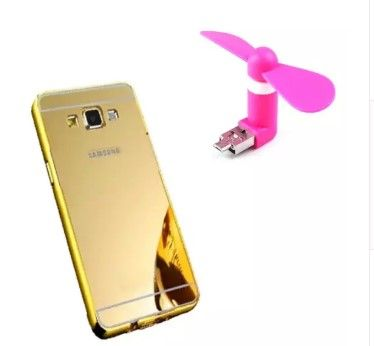 #samsung j7 #Back #Cover Mirror finish + USB mini fan free India onlineshopping COD Available