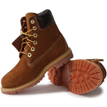 Boots / Chaussures montantes Timberland Earthkeepers 6-inch Premium Boot Rouille Marron 350x350