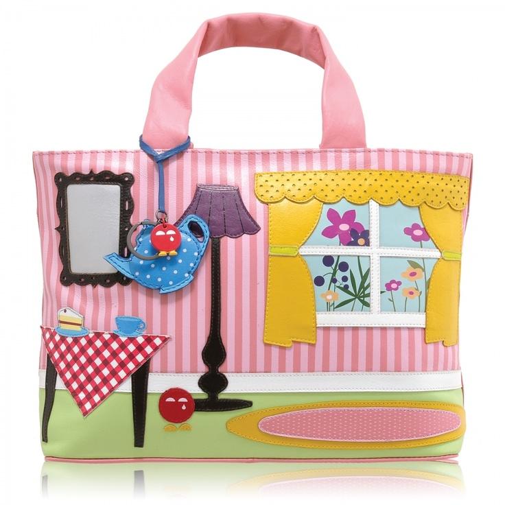 Yoshi Handbags | Yoshi Limited Edition Home Applique Handbag