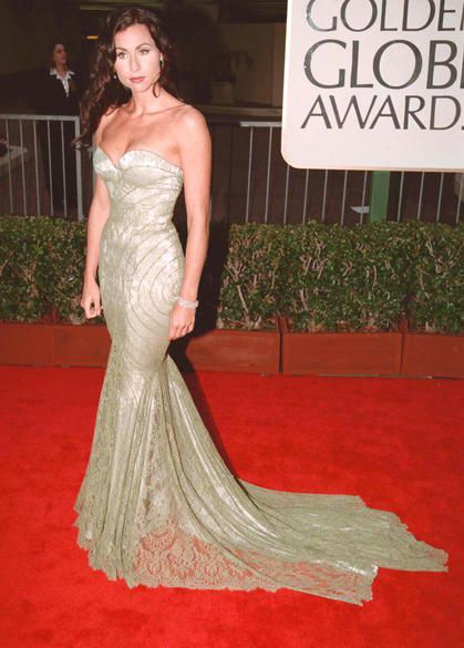 The Most Amazing Golden Globes Looks of All Time : Minnie Driver, 1998