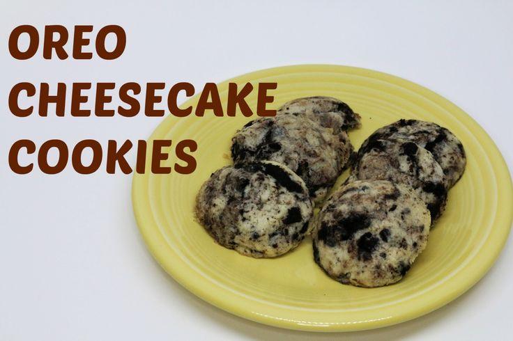 5 Ingredient Oreo Cheesecake Cookies!