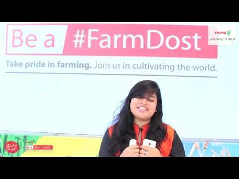A simple and direct message of thank you to those who are an integral part of our life - The #farmers, was conveyed by this student from VIT University, Vellore who visited the 'Be a #FarmDost' stall during #graVITas2016. Take a few moments to share with us your message of gratitude to the farmers and we will share it with the #FarmDost community. Take the #ThankYouTohBol Pledge at farmdost.com/ThankYouTohBol to thank the farmers.