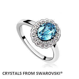 Goedkope 2016 hot charmant ring met kristallen uit swarovski, 5 kleuren beschikbaar goede voor kerstcadeau, koop Kwaliteit ringen rechtstreeks van Leveranciers van China:   grootte van de kristallen ringringmaatomtrekdiameter6,553.0mm16.9mm7.2555.0mm17,5 mm8     57.0mm18.1mm &nb
