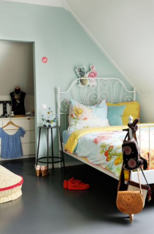"""This lovely girls bedroom is from our feature """"Casual Comfort"""""""
