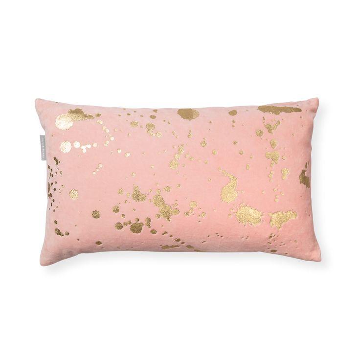 Buy the Pink Metallic Splatter Cushion at Oliver Bonas. Enjoy free UK standard delivery for orders over £50.
