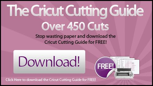 Drumroll… The Cricut Cutting Guide is Ready! | Above Rubies Studio
