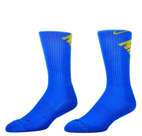 NWT NIKE 3 PACK DRI-FIT FLY CREW SOCKS-LIGHT BLUE WHITE OBSIDIAN SZ 8-12 #Clothing, Shoes & Accessories:Men's Clothing:Socks ##nike #jordan #girls $10.00