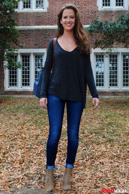 Classic fall outfit idea. | Fall Fashion