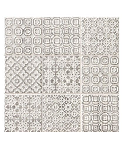 Batik Patchwork Grey tile - Topps Tiles £60 per M2