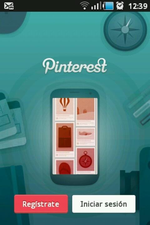 Mobile Pinterest