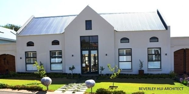 Modern Cape Dutch Style - Residential architecture project in Stellenbosch, Cape Town
