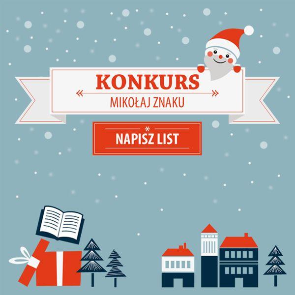 Wyślijcie list do Znakowego Mikołaja i zgarnijcie wielką pakę książek na Święta! Mikołaj czeka na Wasze listy do 15 grudnia! ➡ http://mikolaj.lubimyczytac.pl/