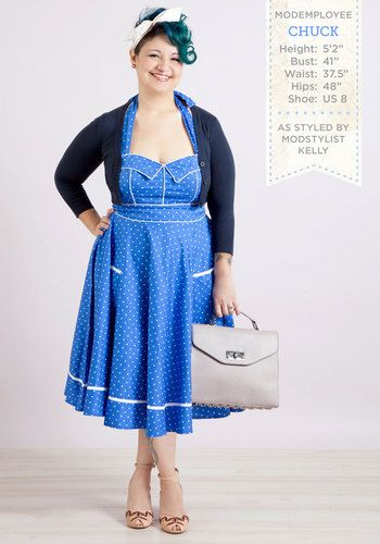 Try a pretty blue frock this Valentine's Day for something different! <3: