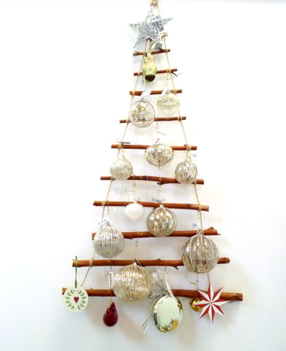 Easy Instructions For Making A Wall Hanging Christmas Tree