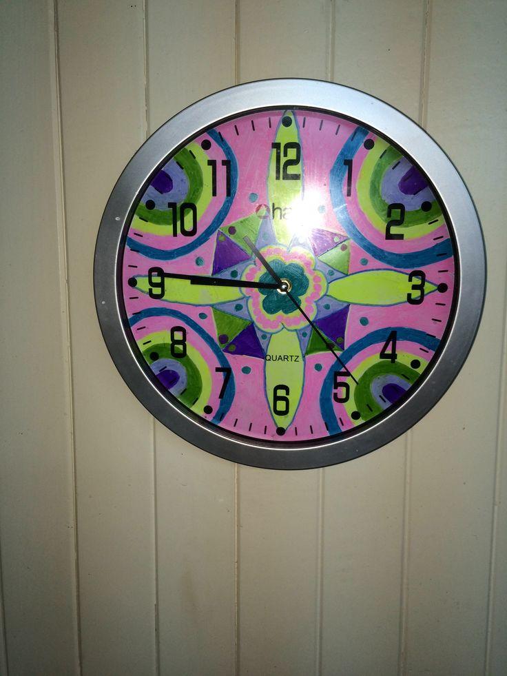 #Reloj #Mandala #DIY