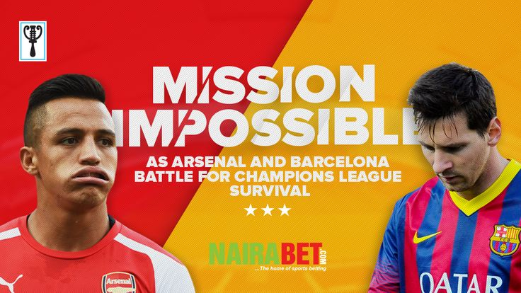 Mission impossible as Arsenal Barcelona battle for Champions League survivalSee full details