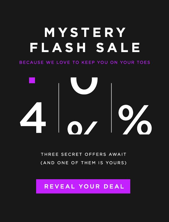 Loft: Mystery FLASH SALE. What will you win? | Milled