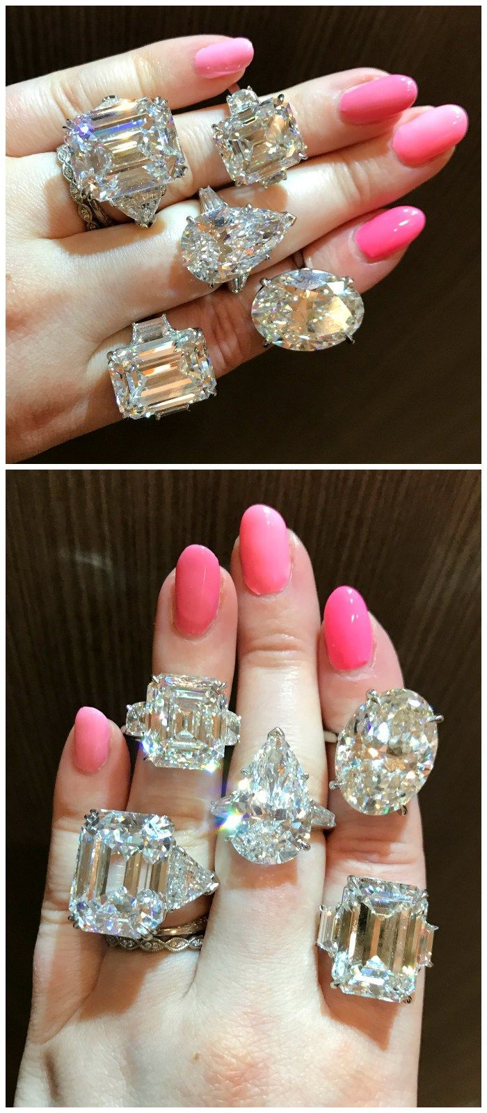 44 best DOUBLE HALO RINGS images on Pinterest | Double halo ...