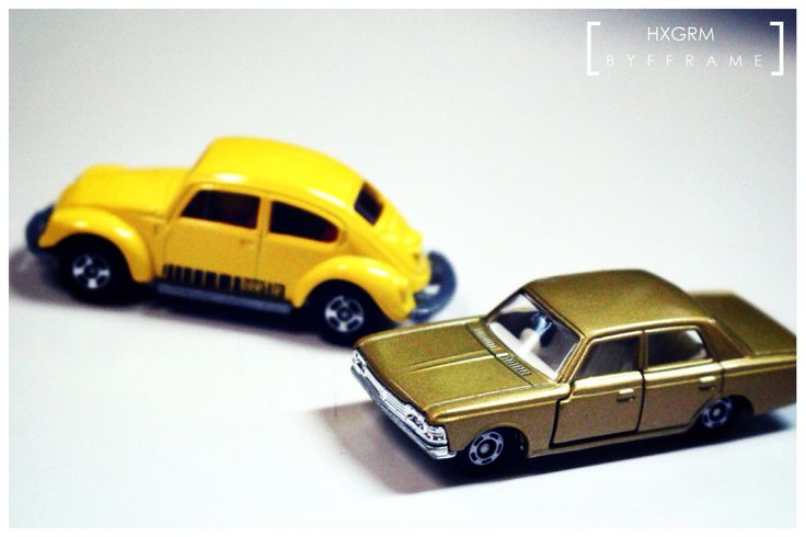Yellow and Gold #tomica #diecast