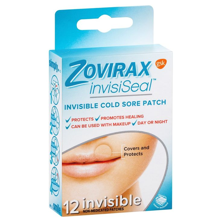 Zovirax InvisiSeal Patch 12 pack