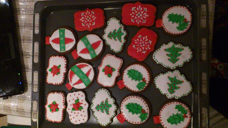 χριστουγενιατικα μπισκότα με αυγόγλασο