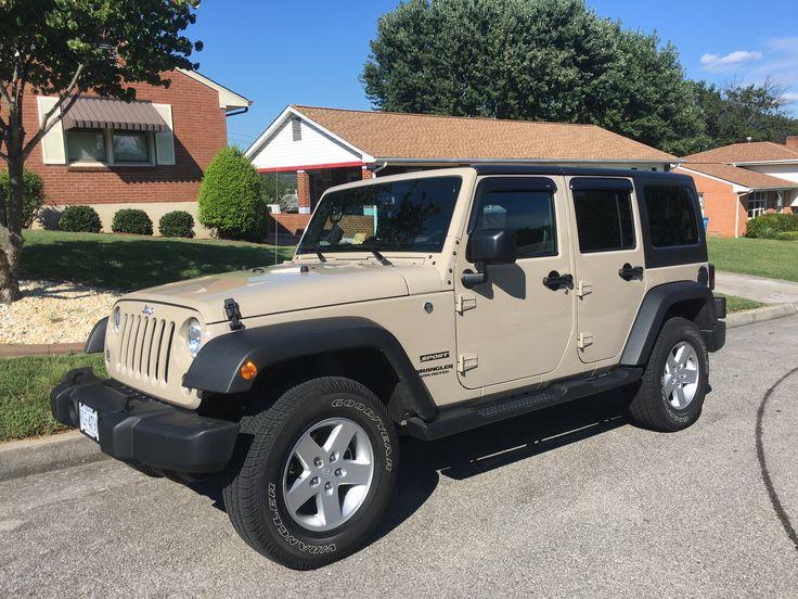 Mojave sand 2016 jeep unlimited