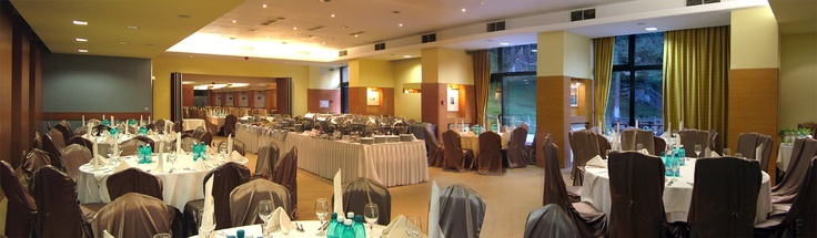 Wedding setup Bradul Ballroom Poiana Brasov