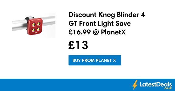 Discount Knog Blinder 4 GT Front Light Save £16.99 @ PlanetX, £13 at Planet X