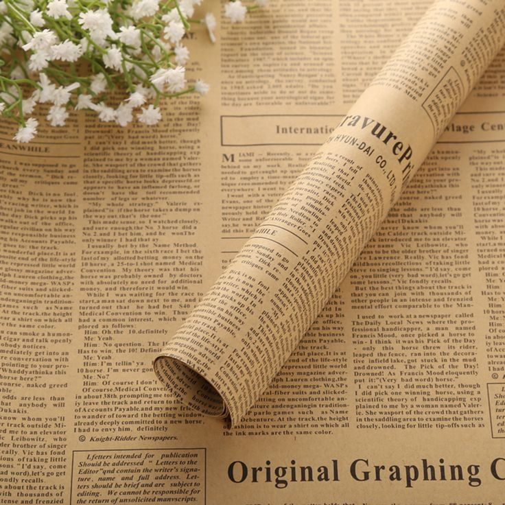 Concise 10pcs Newspaper Wrap Paper Double Sided Party Gift Flower Wrap Decor Kraft Paper Event Party Supplies-in Event & Party from Home & Garden on Aliexpress.com | Alibaba Group