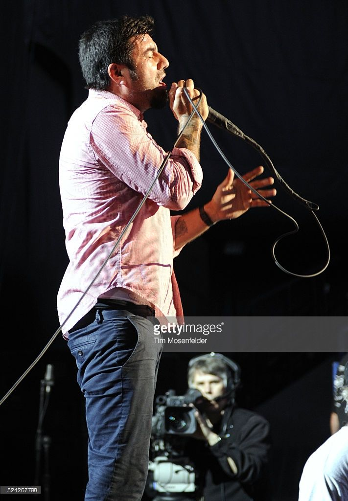 Chino Moreno of The Deftones performs as part of Live 105's BFD 2010 at Shoreline Amphitheatre in Mountain View, California.