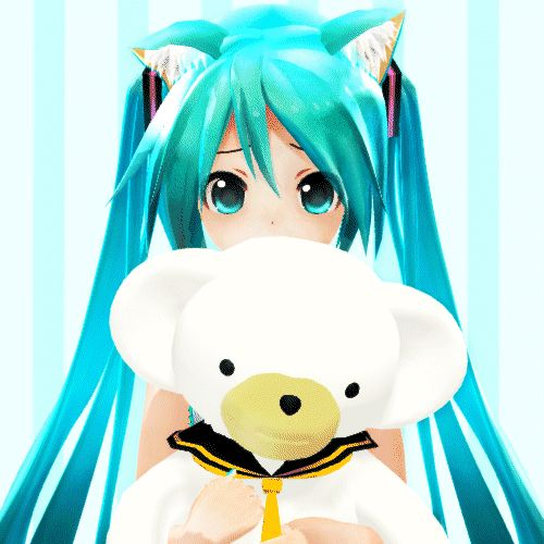 68 best my mmd stuff ppl post to pinterest images on - Cute anime miku ...