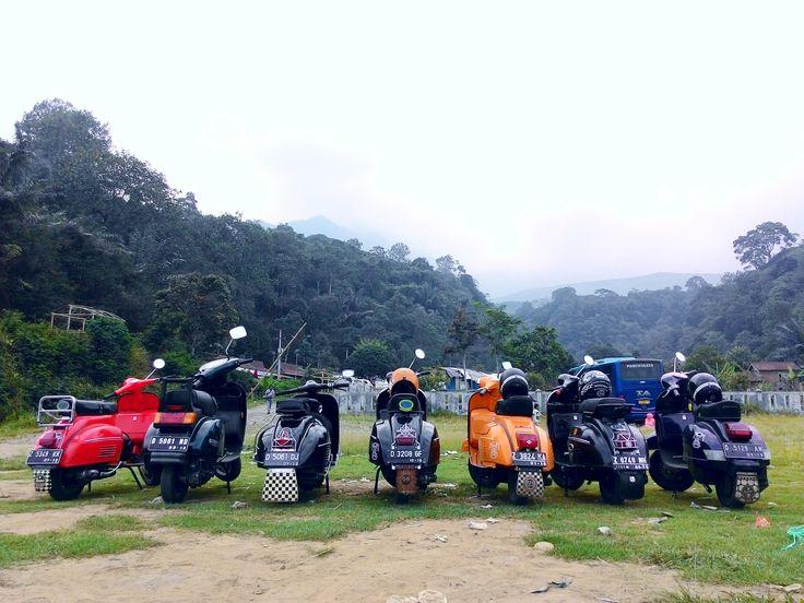 @Mount Galunggung