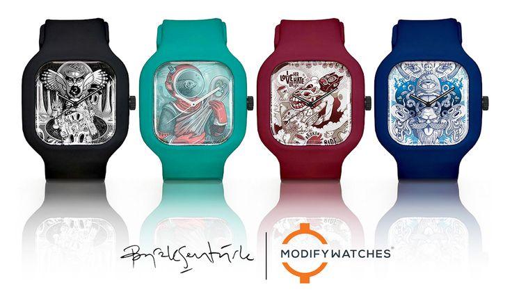 Burak Senturk x Modify Watches on Behance