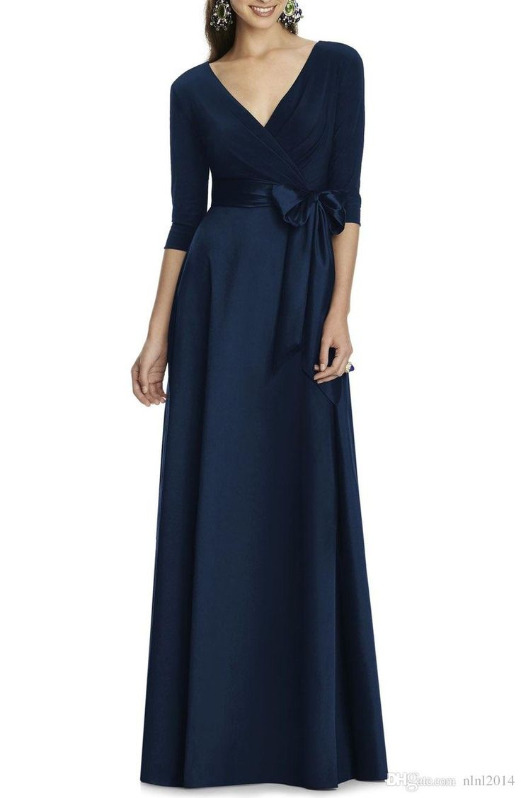 2017New ustom Made Many Colors Luxury plus size Modest Woman Evening Dress Dark Green Mother Of the Bride Dress drop shipping