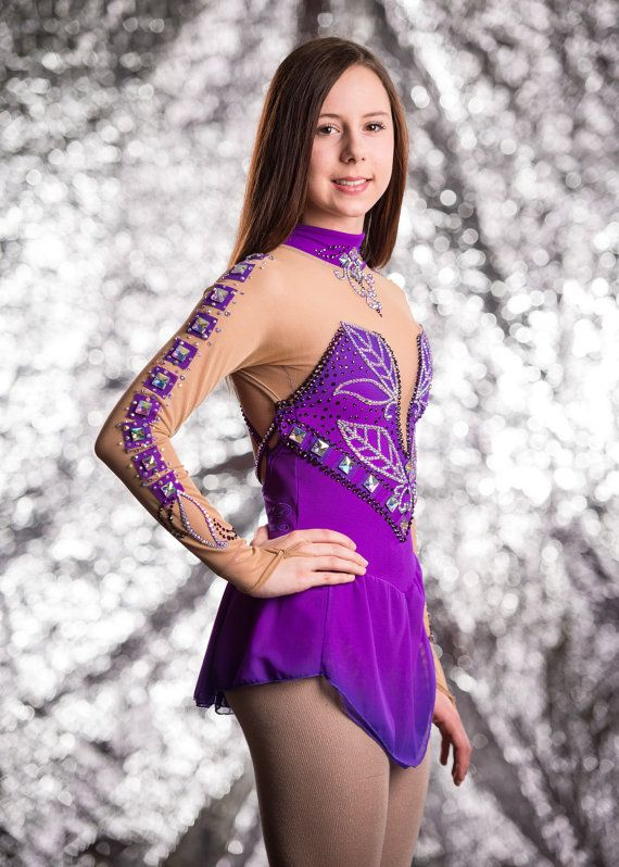 Robe de patinage artistique Skating dress par Axelledesign sur Etsy