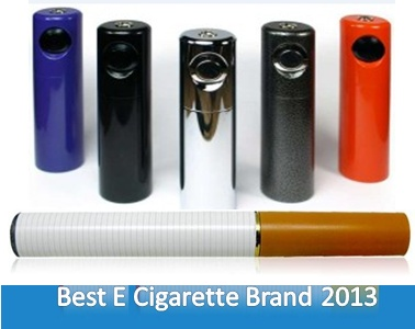 What Are The Best Electronic Cigarette Brands In The Year 2013?