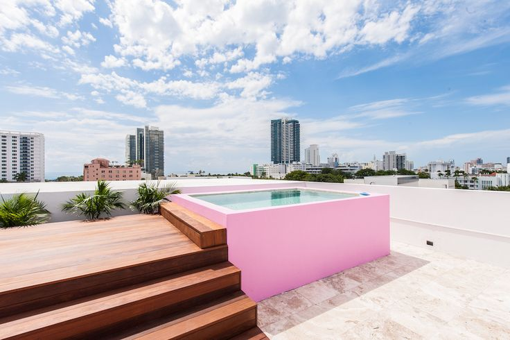 SoBe Park Ave is an ideal luxury Miami Beach apartment with a roof terrace and splashes of artistic flavor creating an oasis of calm within Miami.