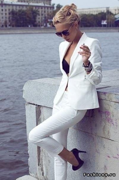 белый костюм женский: 19 тыс изображений найдено в Яндекс.Картинках