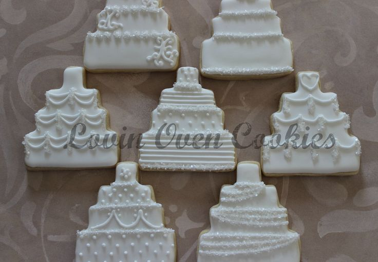 wedding cake cookie decorating ideas 19 best images about wedding favors on 22236