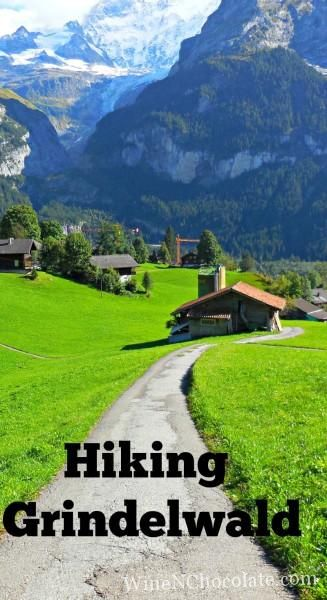 Our hike around around Grindelwald